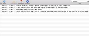 Keylogger example