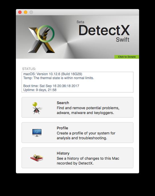DetectX Main